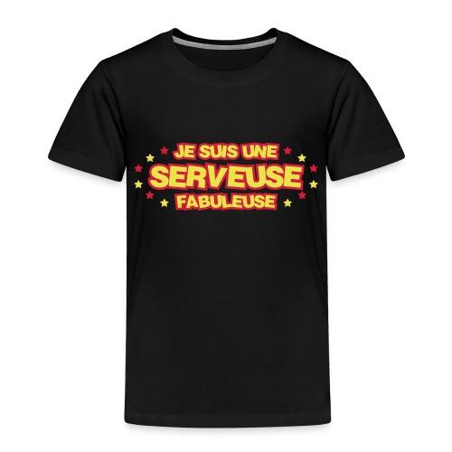 Barman / Barmaid / Bar / Serveur / Serveuse - T-shirt Premium Enfant