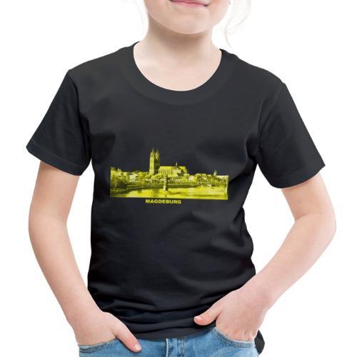 Magdeburg Dom Sachsen-Anhalt Deutschland Elbe - Kinder Premium T-Shirt