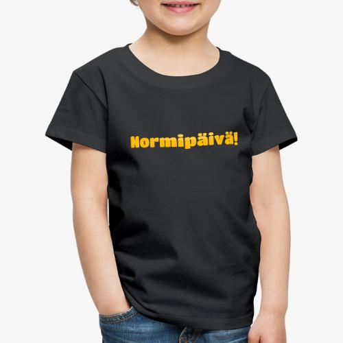 Kummeli Sanonta Normipäivä - Lasten premium t-paita