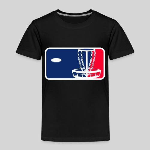 Major League Frisbeegolf - Lasten premium t-paita
