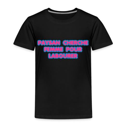 paysan cherche femme - T-shirt Premium Enfant