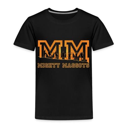 Retro Tasche Mighty Maggots - Kinder Premium T-Shirt