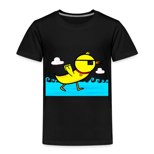 Deal With It Duck png - Kids' Premium T-Shirt