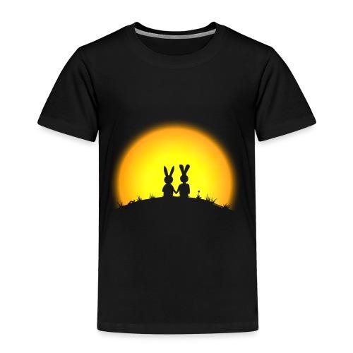 hase kaninchen Karnickel häschen bunny liebe - Kinder Premium T-Shirt