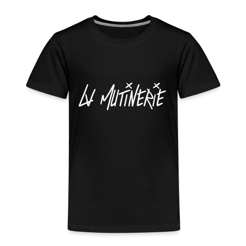 Hoodie Mutinerie Black Against CLASSIC - T-shirt Premium Enfant