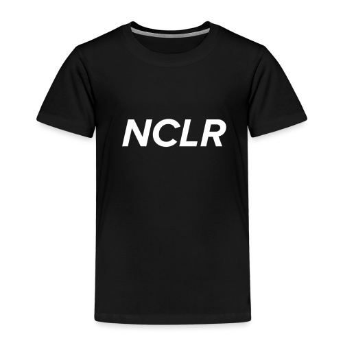 nclr white on black - Kinderen Premium T-shirt