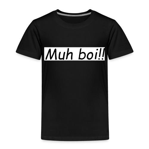 muh boi logo - Premium T-skjorte for barn