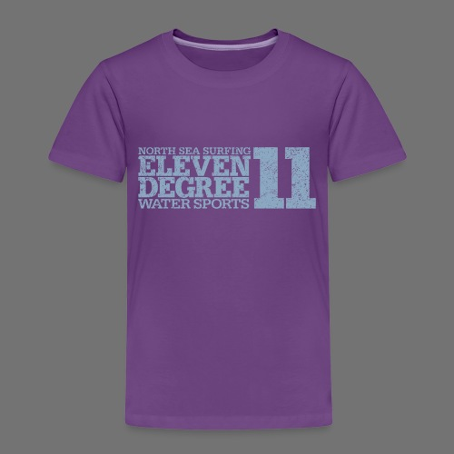 eleven degree light blue (oldstyle) - Kids' Premium T-Shirt