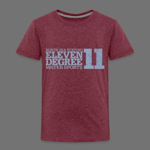 eleven degree light blue (oldstyle) - Kids' Premium T-Shirt