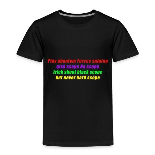 phantom forces - Premium T-skjorte for barn