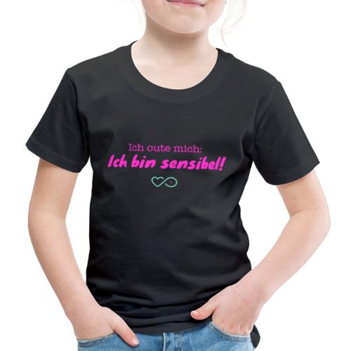 Ich oute mich (pink) - Kinder Premium T-Shirt