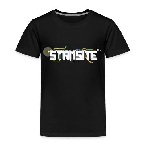 STAMSITE Logo - Premium-T-shirt barn