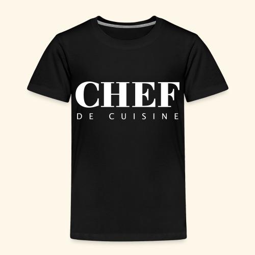BOSS de cuisine - logotype - Kids' Premium T-Shirt