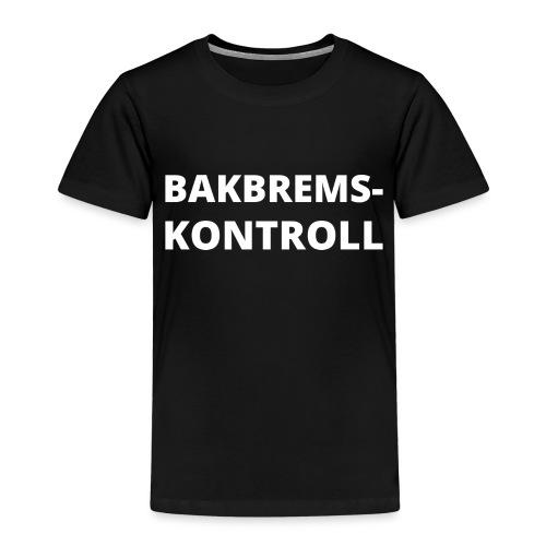 Bakbremskontroll png - Premium T-skjorte for barn
