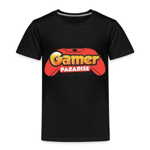 Gamer Paradise Logo - Kinder Premium T-Shirt
