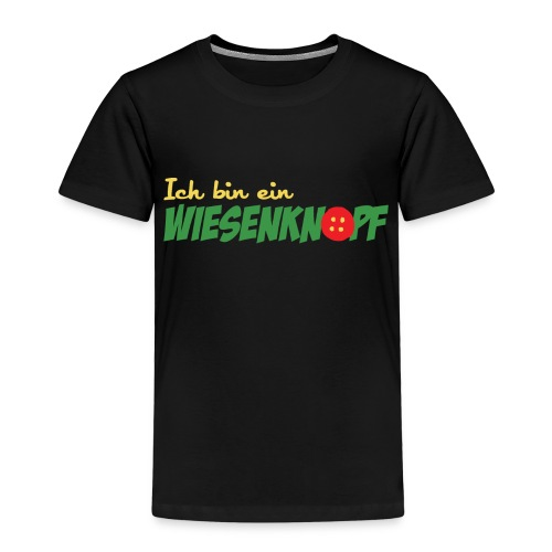 ich bin ein WIESENKNOPF - Kinder Premium T-Shirt
