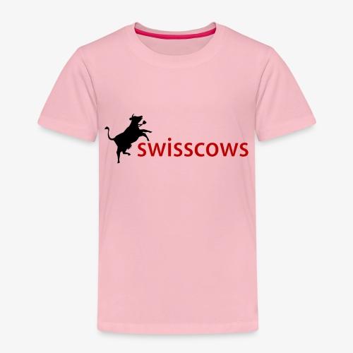 Schwarz-Rot Hoodie - Kinder Premium T-Shirt