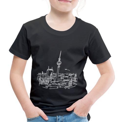 Le panorama de Berlin - T-shirt Premium Enfant