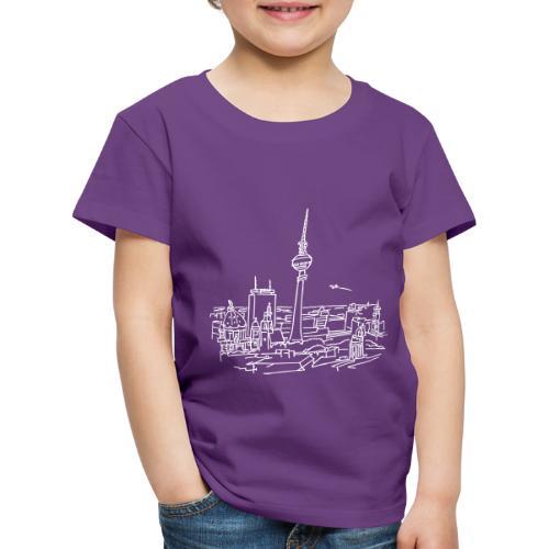 Berlin Panorama - Kinder Premium T-Shirt