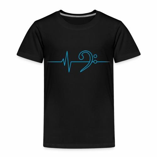 LowHeartBeat cyan - Kinder Premium T-Shirt
