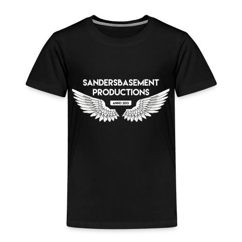 T SHIRT logo wit png png - Kinderen Premium T-shirt