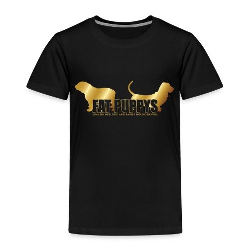 FatPuppys - Camiseta premium niño