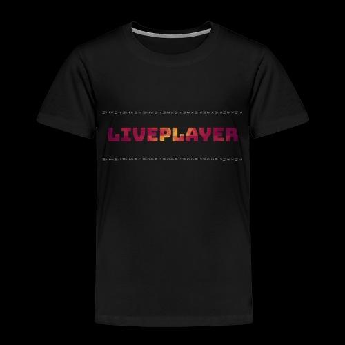 LivePlayer V.7 Weiße Umrandung - Kinder Premium T-Shirt