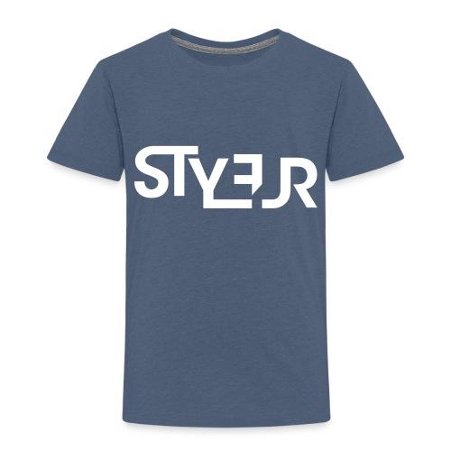 styleur logo spreadhsirt - Kinder Premium T-Shirt