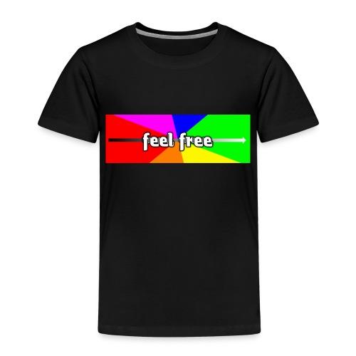Feel free enjoy - Kinder Premium T-Shirt
