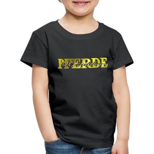 Pferdemädchen Reiten Pferd Geschenkidee - Kinder Premium T-Shirt