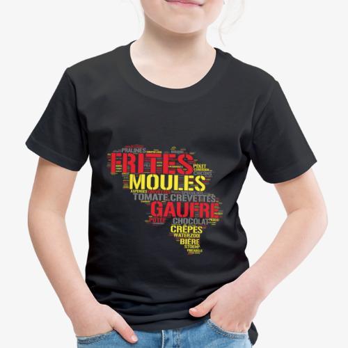 Belgium FR 3 couleurs - T-shirt Premium Enfant