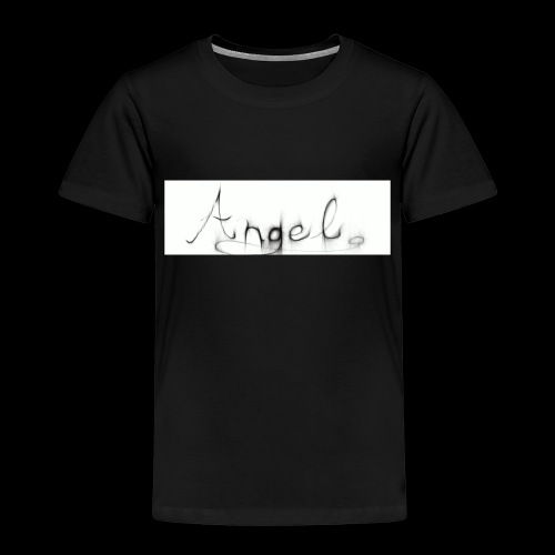 angel text - Kids' Premium T-Shirt