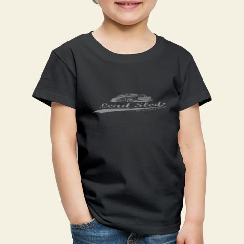 lead sled grey - Børne premium T-shirt