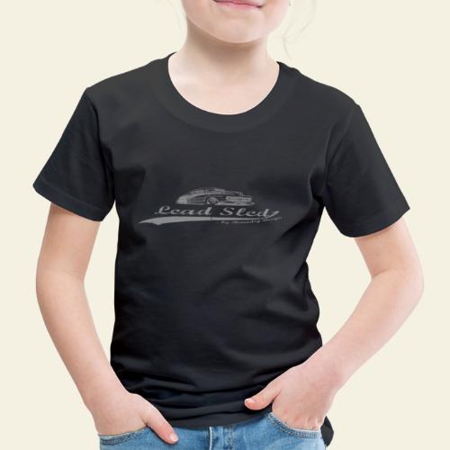 lead sled grey - Børne premium T-shirt