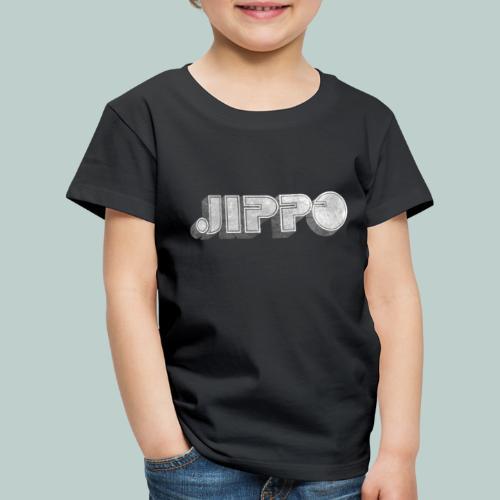 Retro JIPPO logo - Lasten premium t-paita