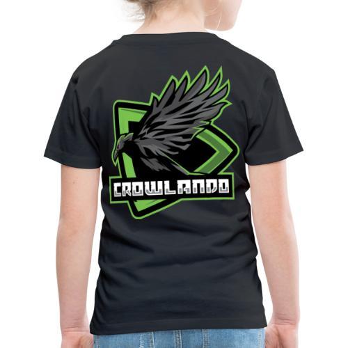 Crowlando design + Logo - Kids' Premium T-Shirt
