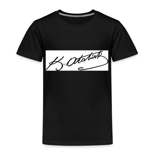 Atatürk imza jpg - Kinderen Premium T-shirt