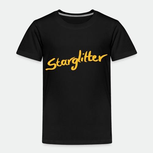 Starglitter - Lettering - Kids' Premium T-Shirt