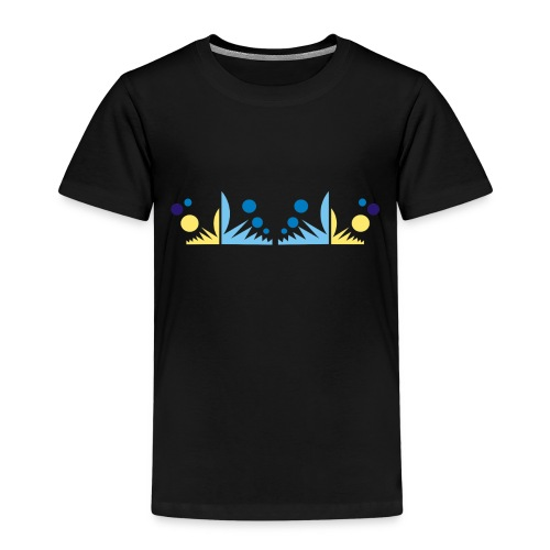 abstract pattern - Maglietta Premium per bambini