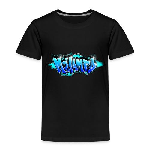 GRAFFITI MOHAMED BLUE PRINTABLE - Kids' Premium T-Shirt