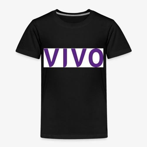 Vivo logotype stor - Premium T-skjorte for barn