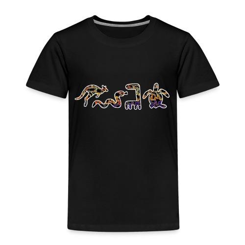Les kangourous noirs - T-shirt Premium Enfant