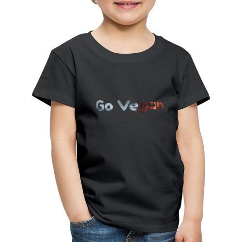 Go vegan nature - T-shirt Premium Enfant