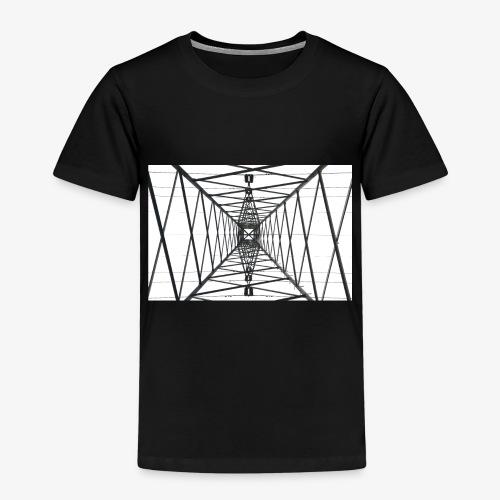 Quermast WhiteBG - Kinder Premium T-Shirt