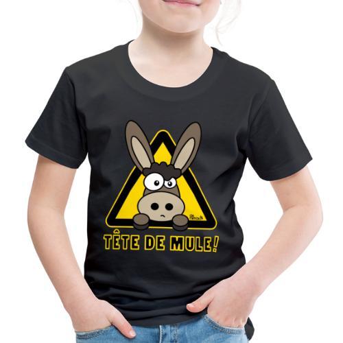 Âne, Tête de mule, tetu - T-shirt Premium Enfant