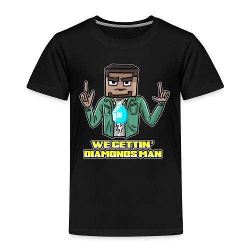 wegettindiamondsman - Kids' Premium T-Shirt
