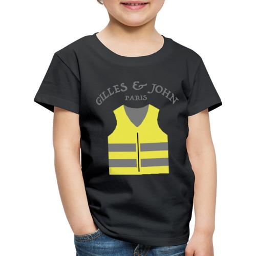 Gilles & John - Paris - T-shirt Premium Enfant