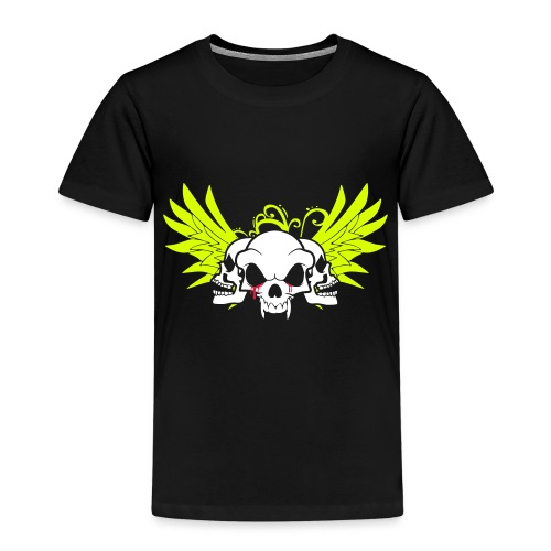 skull and wings - Kids' Premium T-Shirt