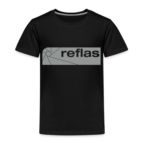 Reflas Clothing Black/Gray - Maglietta Premium per bambini