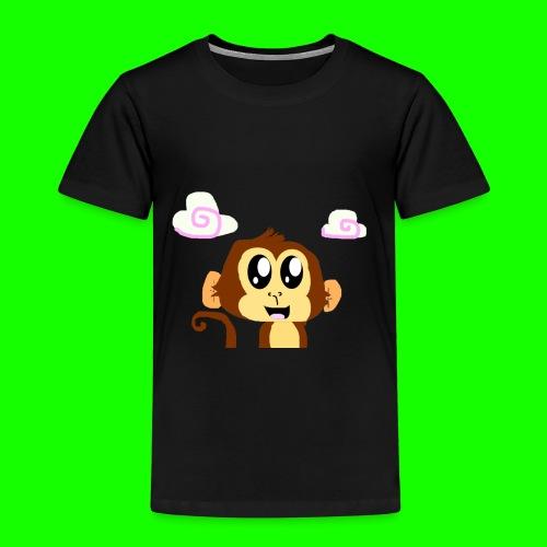 The Monkey as T Shirt Design png - Kids' Premium T-Shirt